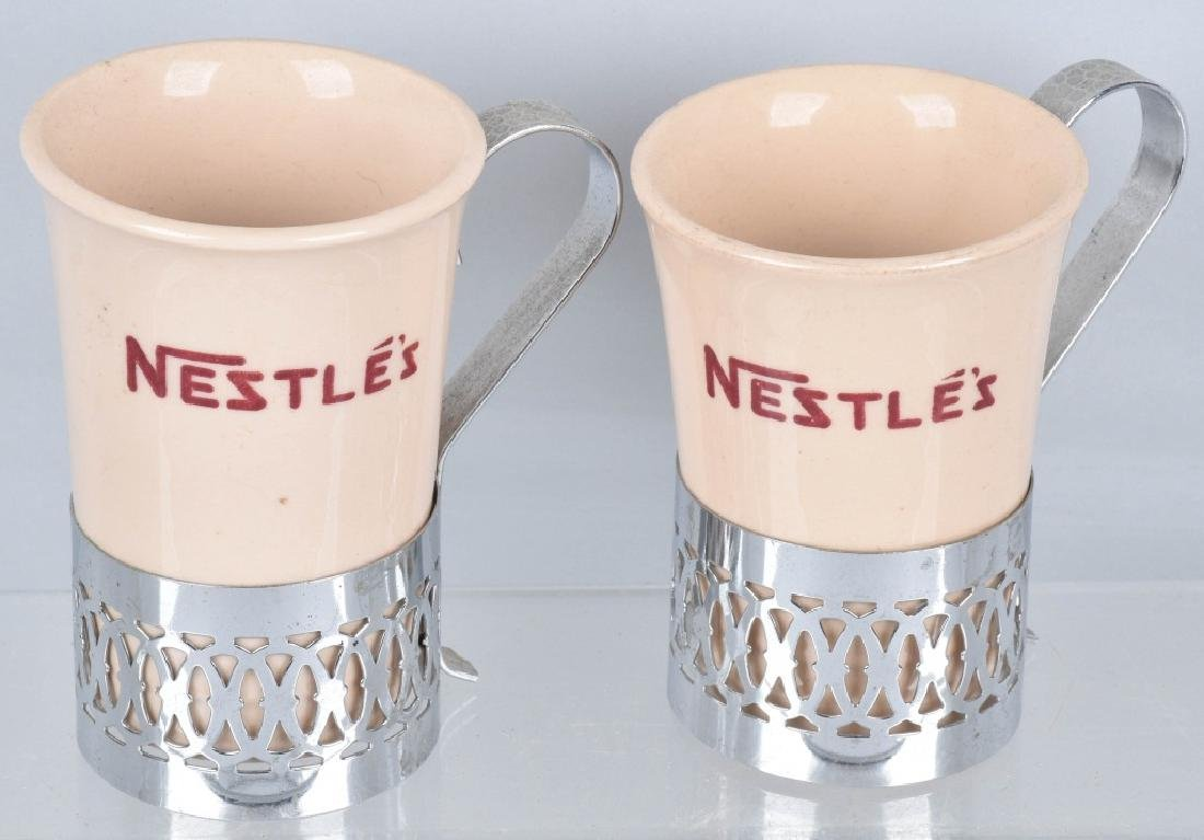 4-ADVERTISING MUGS, HIRES, ISALY'S and NESTLE'S - 6
