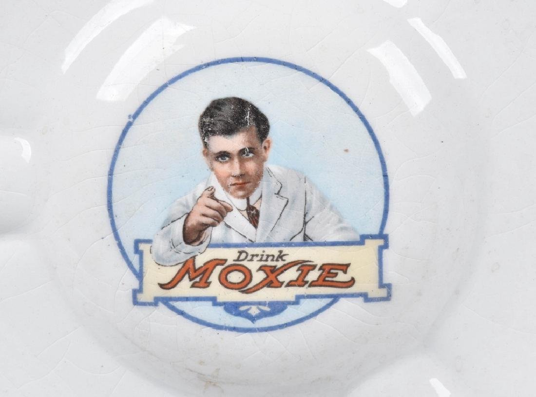 DRINK MOXIE ADVERTISING ASH TRAY & PLATE - 2