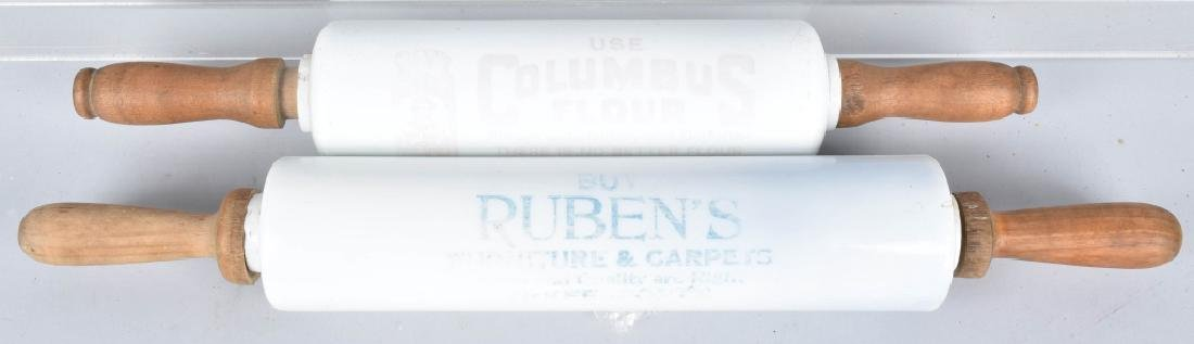 2-ADVERTISING ROLLING PINS