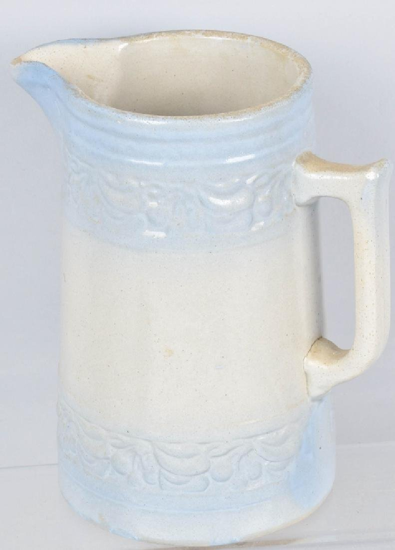 PULS & SON WISC. ADVERTISING STONEWARE PITCHER - 3