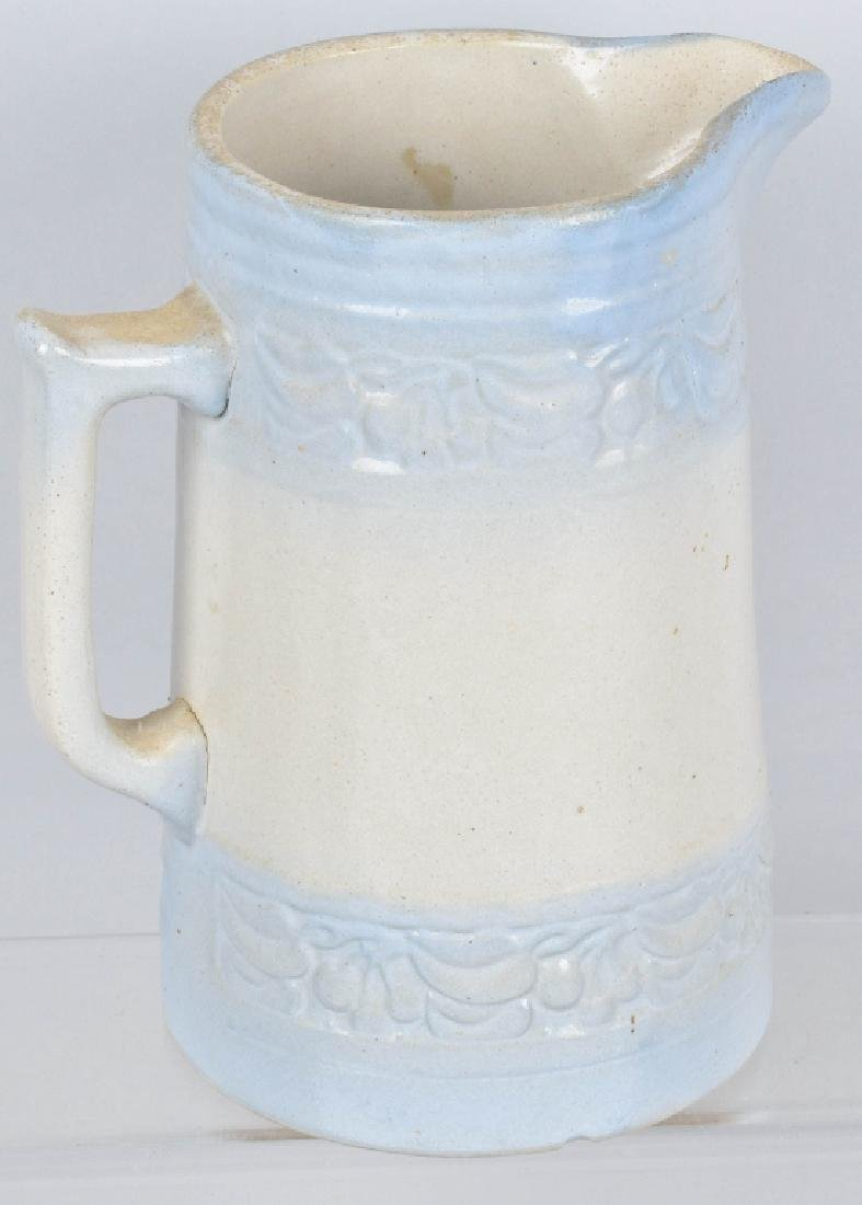 PULS & SON WISC. ADVERTISING STONEWARE PITCHER - 4