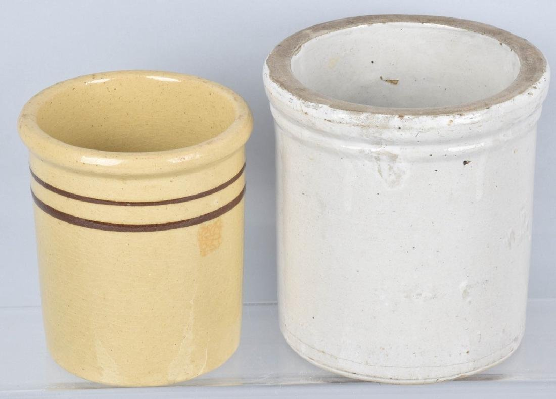 2-ADVERTISING STONEWARE CROCKS, CHRISTMAS & MORE - 4
