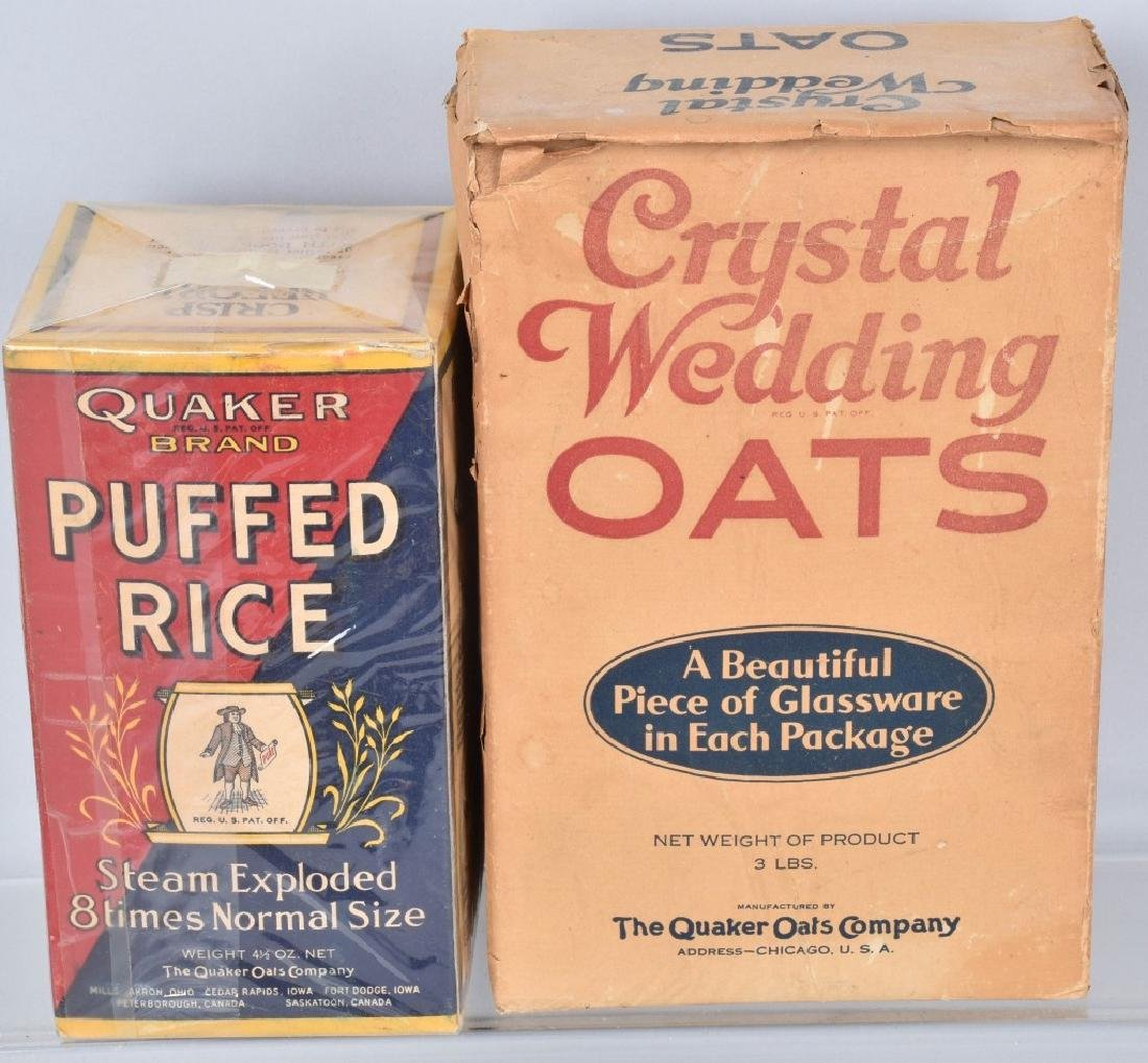 VINTAGE OAT MEAL ADVERTISING CONTAINERS & MORE - 3