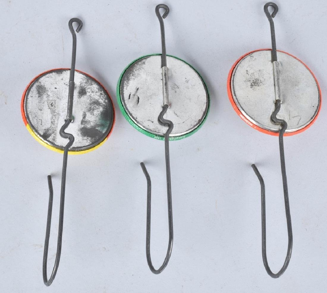 3-ADVERTISING HOOKS and 1 MATCH SAFE - 5