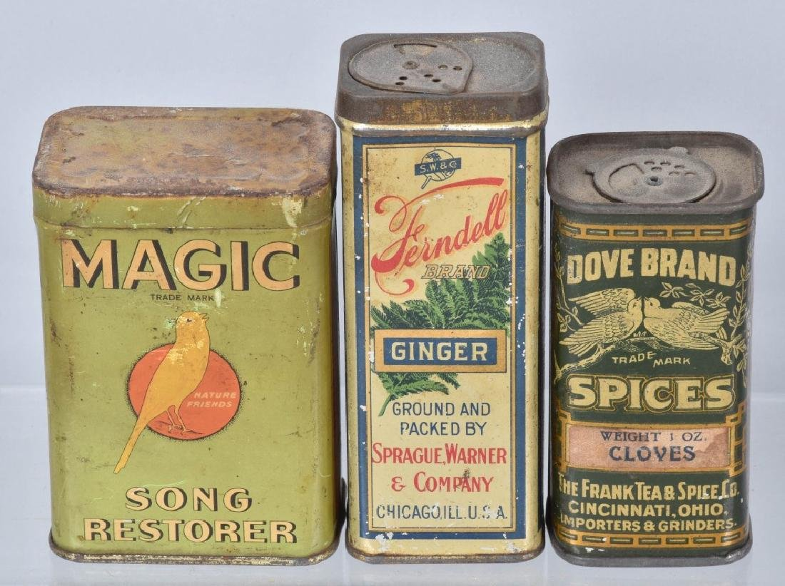 12-ADVERTISING ITEMS, TINS and MORE - 2