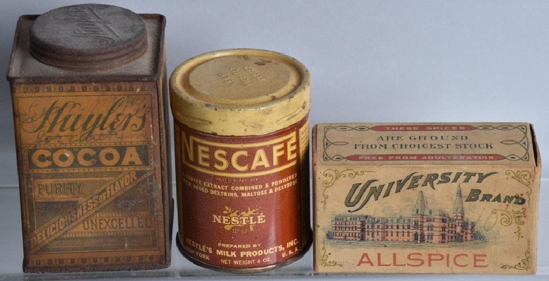 12-ADVERTISING ITEMS, TINS and MORE - 4