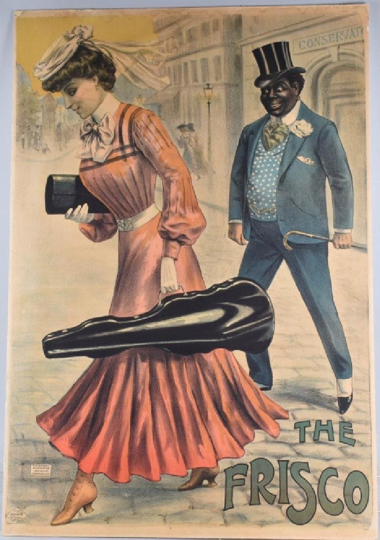 French THE FRISCO Poster by Louis Galice