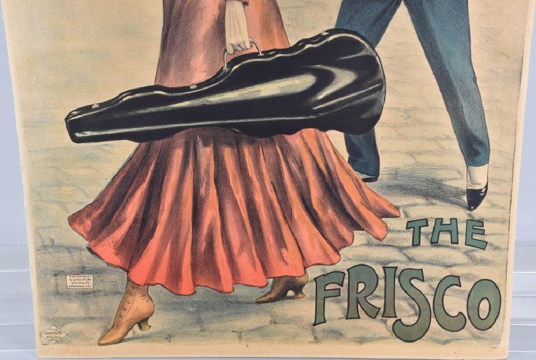 French THE FRISCO Poster by Louis Galice - 4