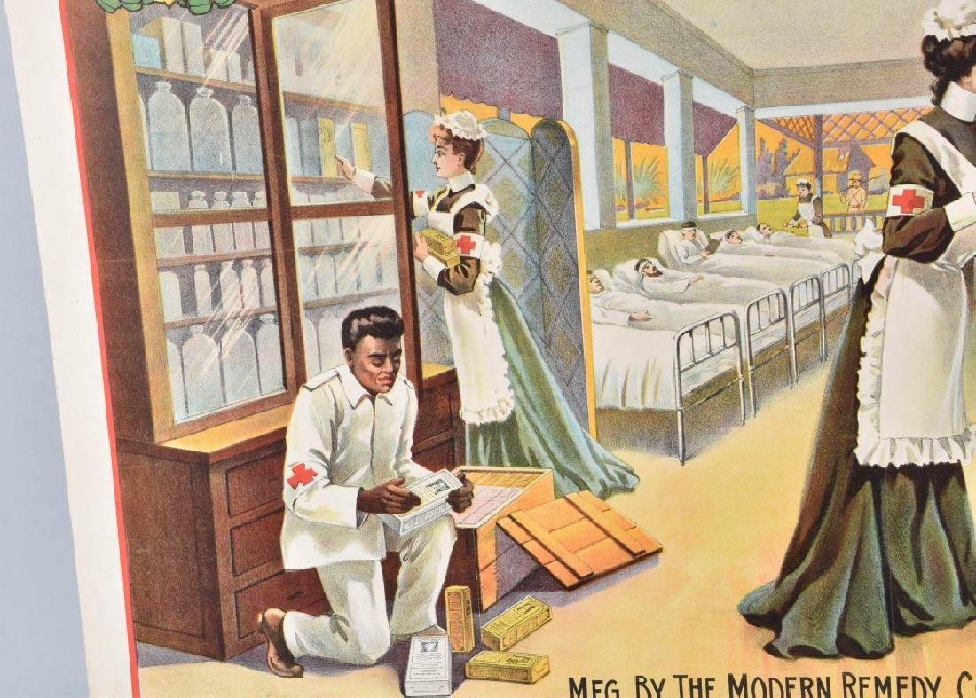 DR. EMERSON'S MEDICINE COLOR ADVERTISING POSTER - 5