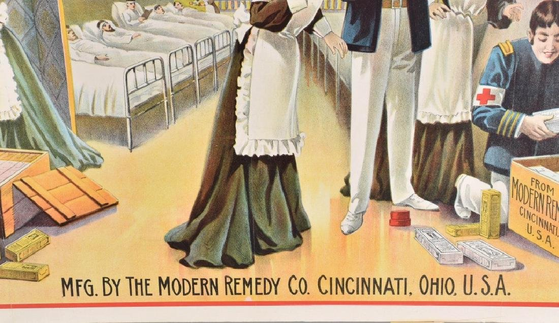 DR. EMERSON'S MEDICINE COLOR ADVERTISING POSTER - 6
