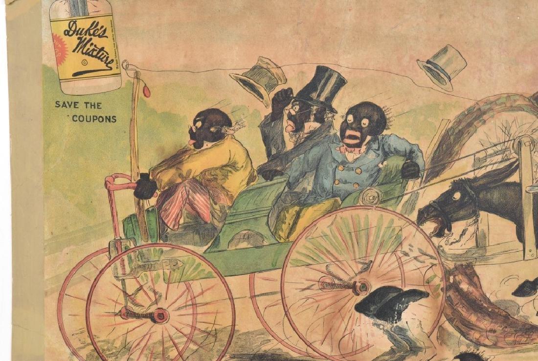 1902 DUKES MIXTURE BLACK AMERICANA ADV. SIGN - 2