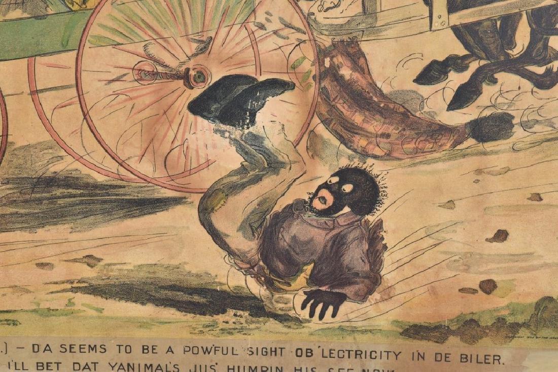 1902 DUKES MIXTURE BLACK AMERICANA ADV. SIGN - 3