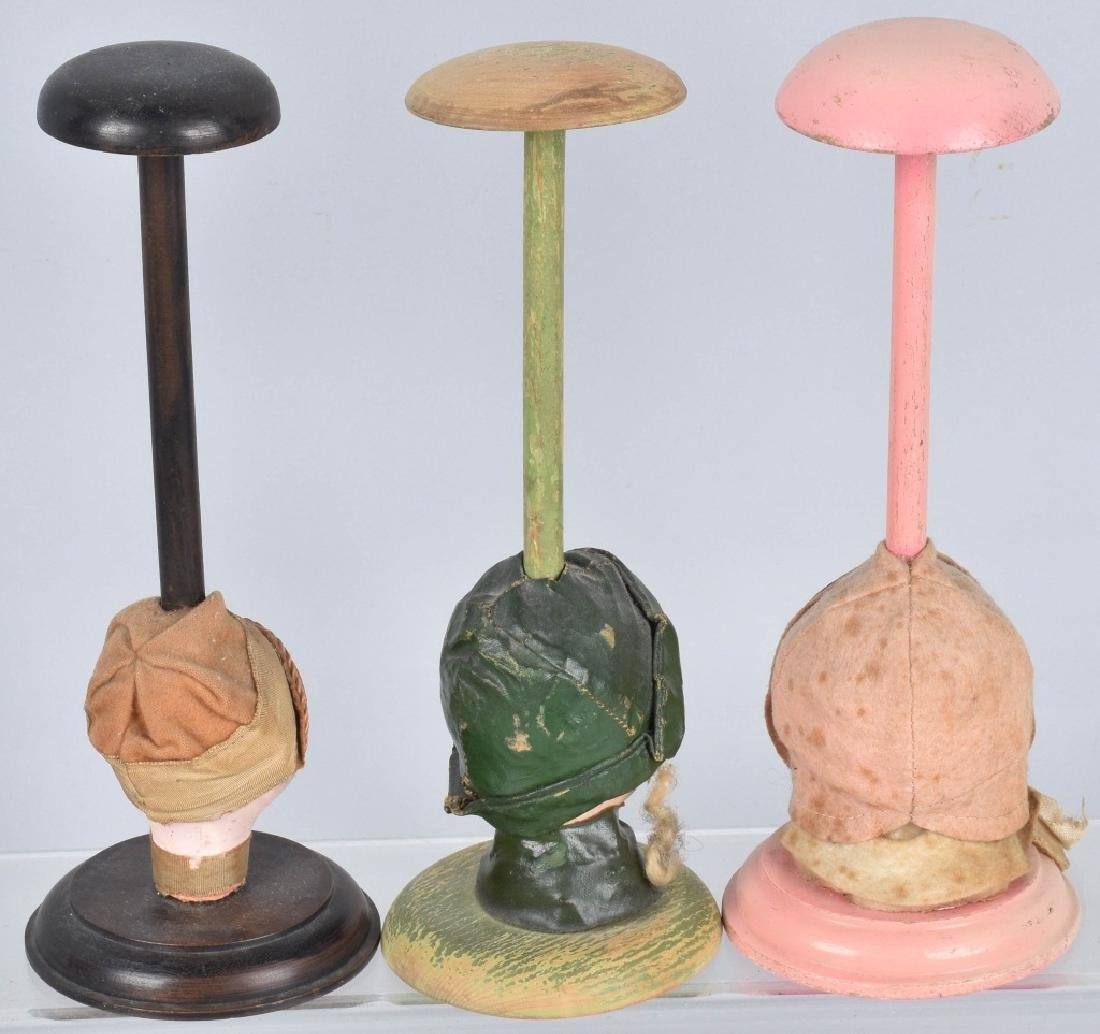 VANITY HAT STANDS, DOLL HEAD and MORE - 3