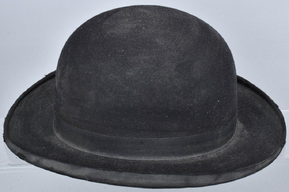 4-VINTAGE HATS, STOVE PIPE, DERBY, STRAW & MORE - 3