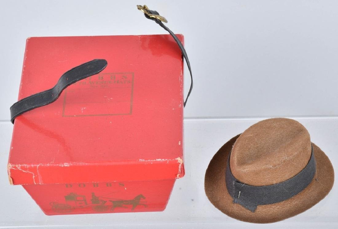 4-VINTAGE HATS, STOVE PIPE, DERBY, STRAW & MORE - 4