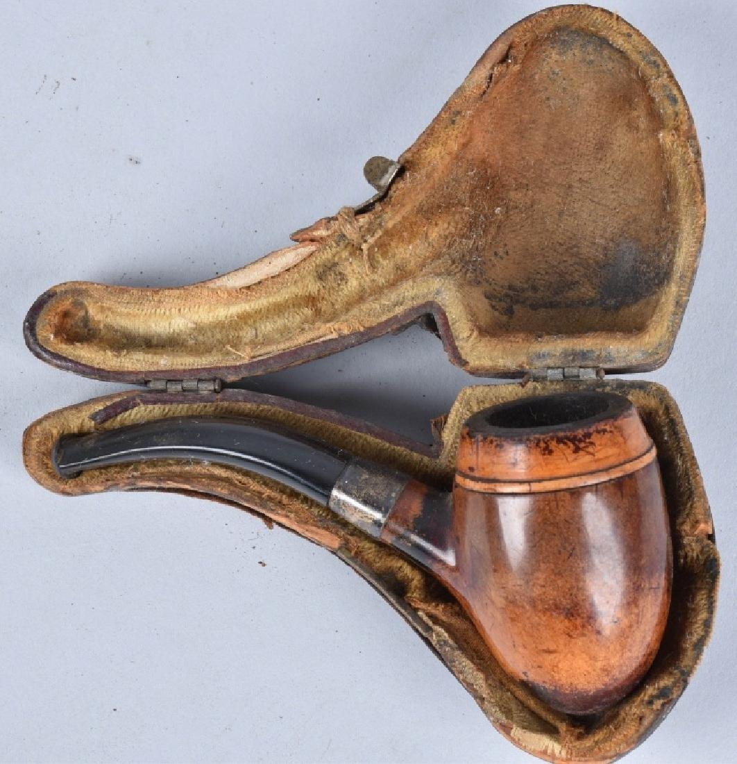 3-VINTAGE CASED PIPES - 4