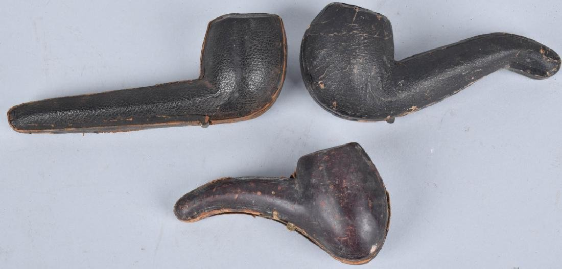 3-VINTAGE CASED PIPES - 5