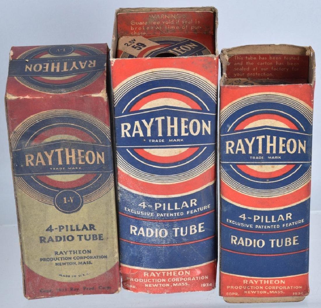 VINTAGE RADIO TUBE LOT, RAYTHEON, RCA and MORE - 2