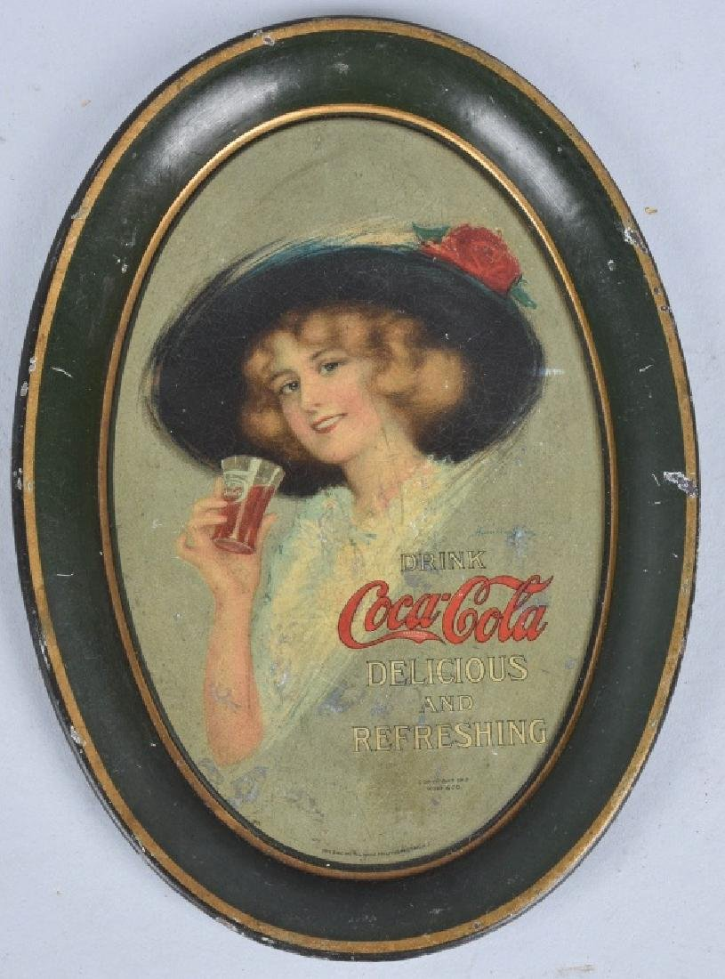 3-COCA COLA TIP TRAYS, 1912, 1916 and 1920 - 2