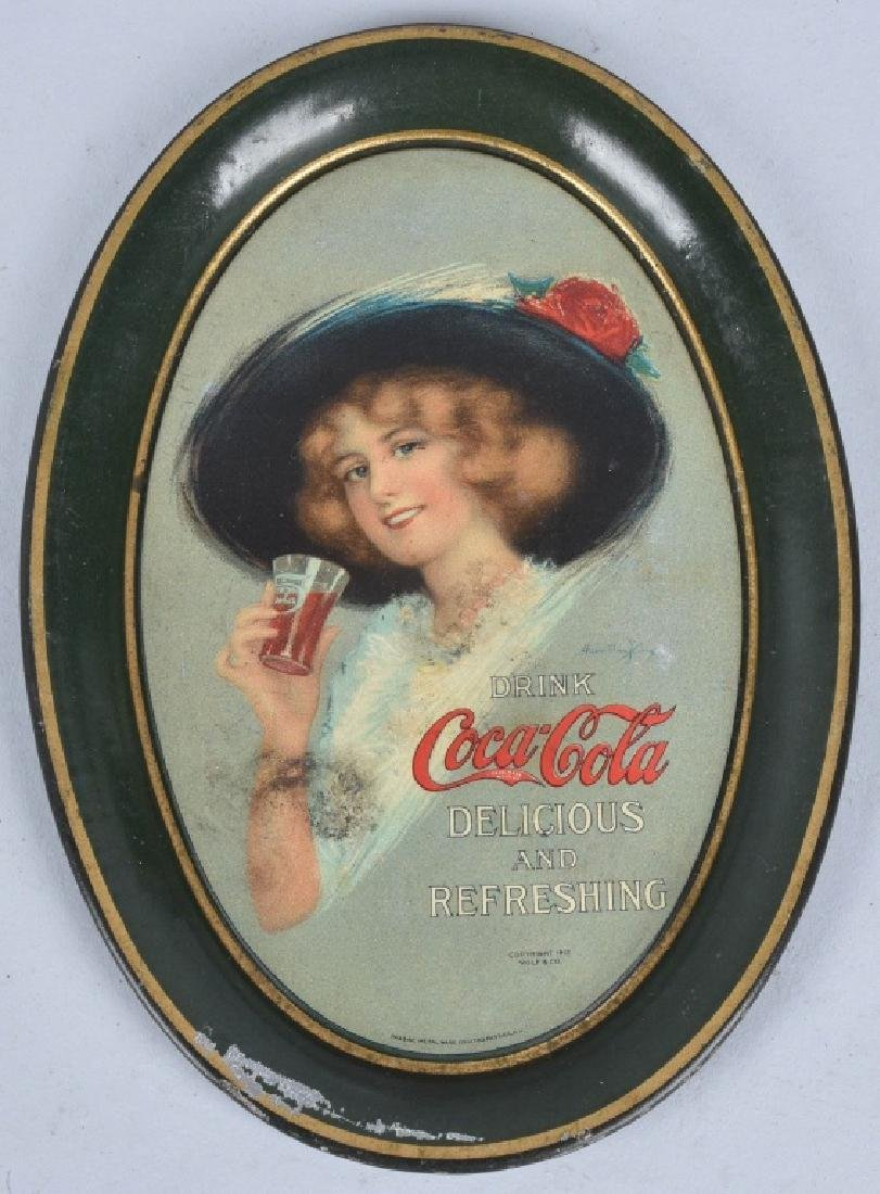3-COCA COLA TIP TRAYS, 1912, 1914 and 1916 - 2