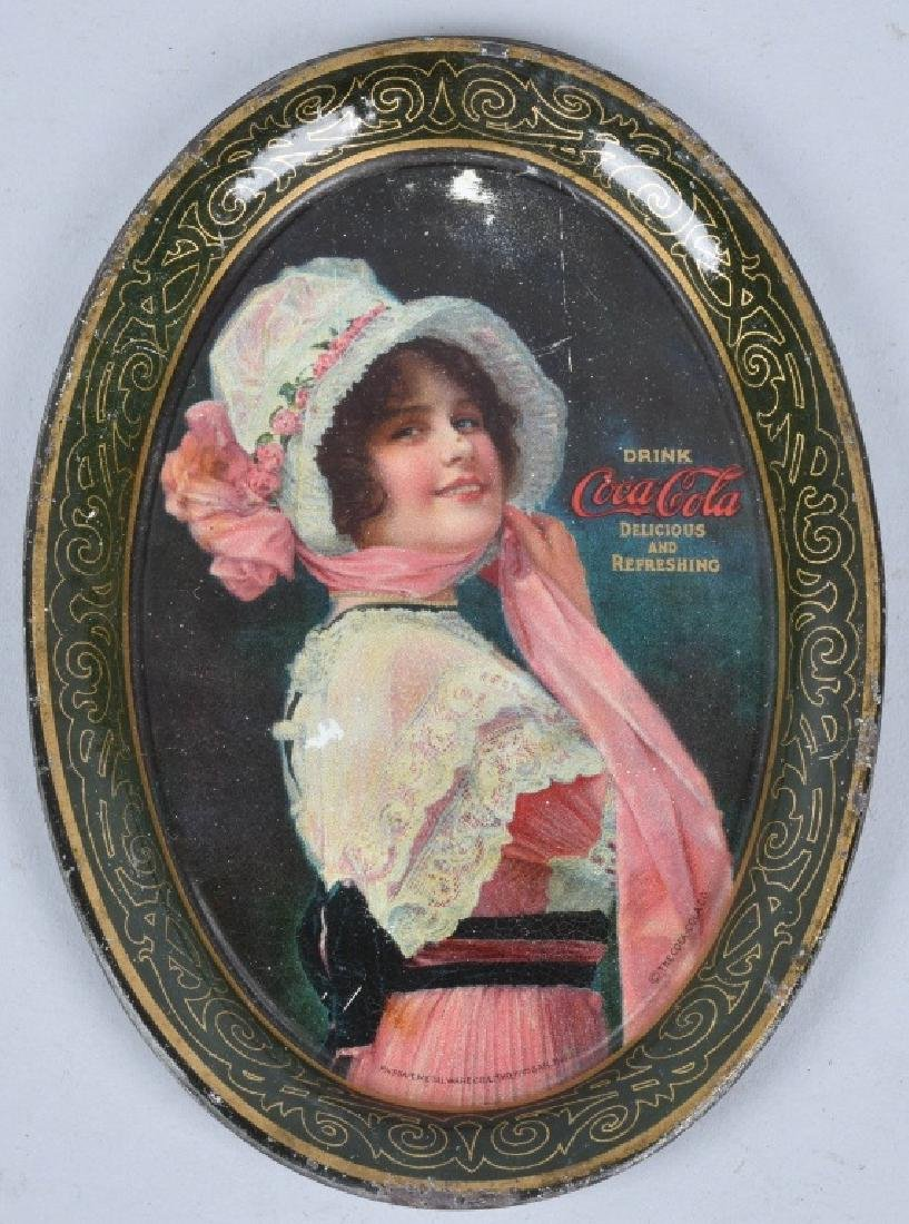 3-COCA COLA TIP TRAYS, 1912, 1914 and 1916 - 3
