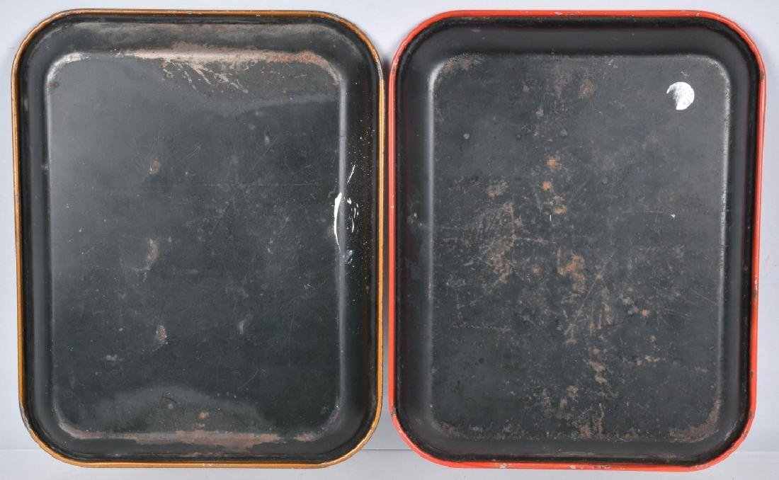 2-COCA COLA SERVING TRAYS,1935 and 1936 - 4