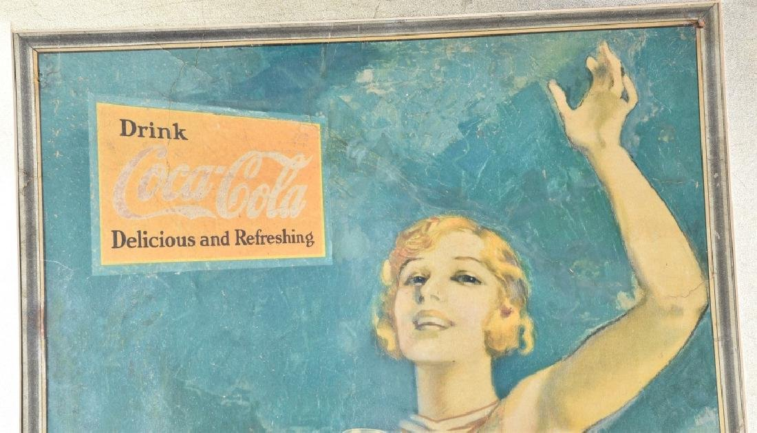1931 LARGE COCA COLA ADVERTSING SIGN - 2