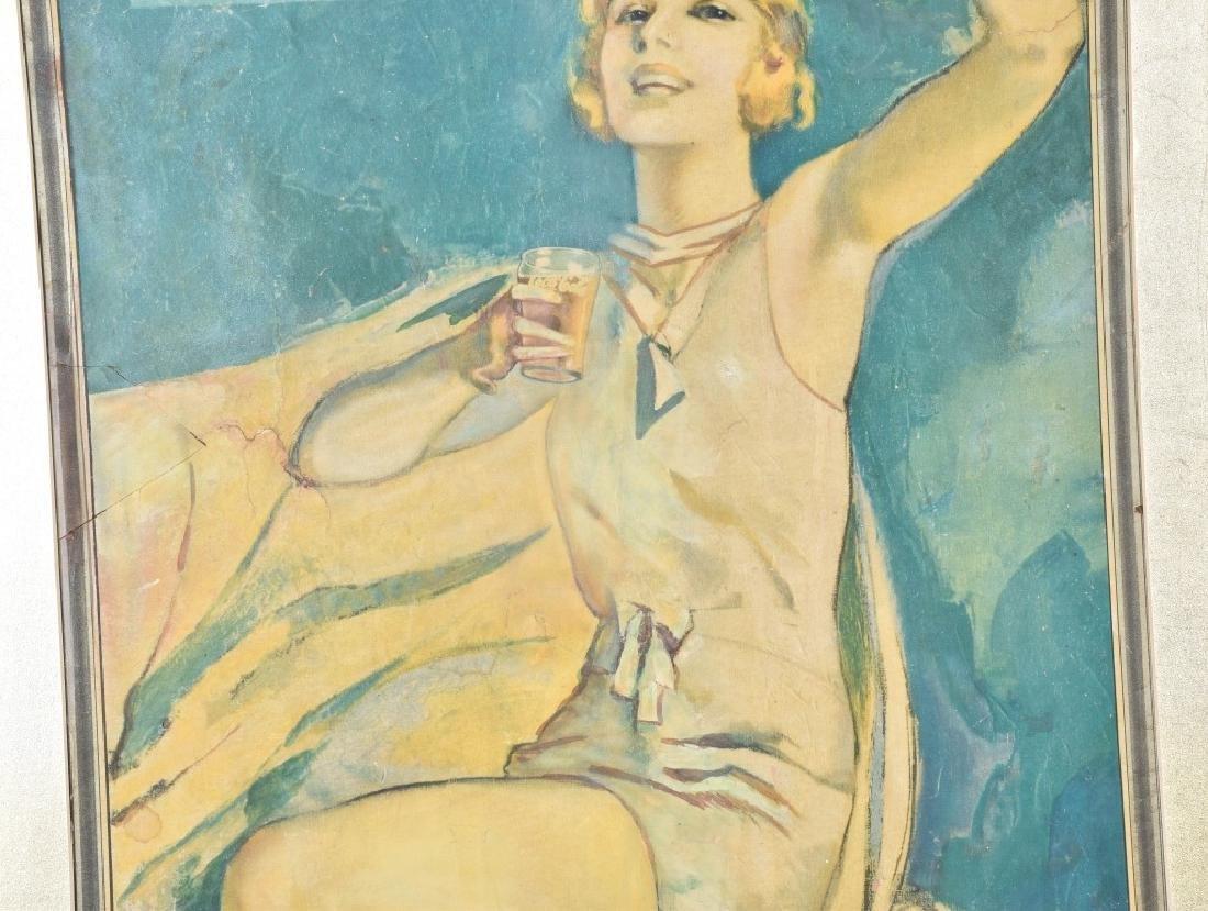 1931 LARGE COCA COLA ADVERTSING SIGN - 3