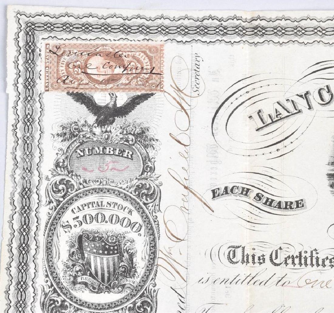 4-1864 OIL STOCK CERTIFICATES - 4