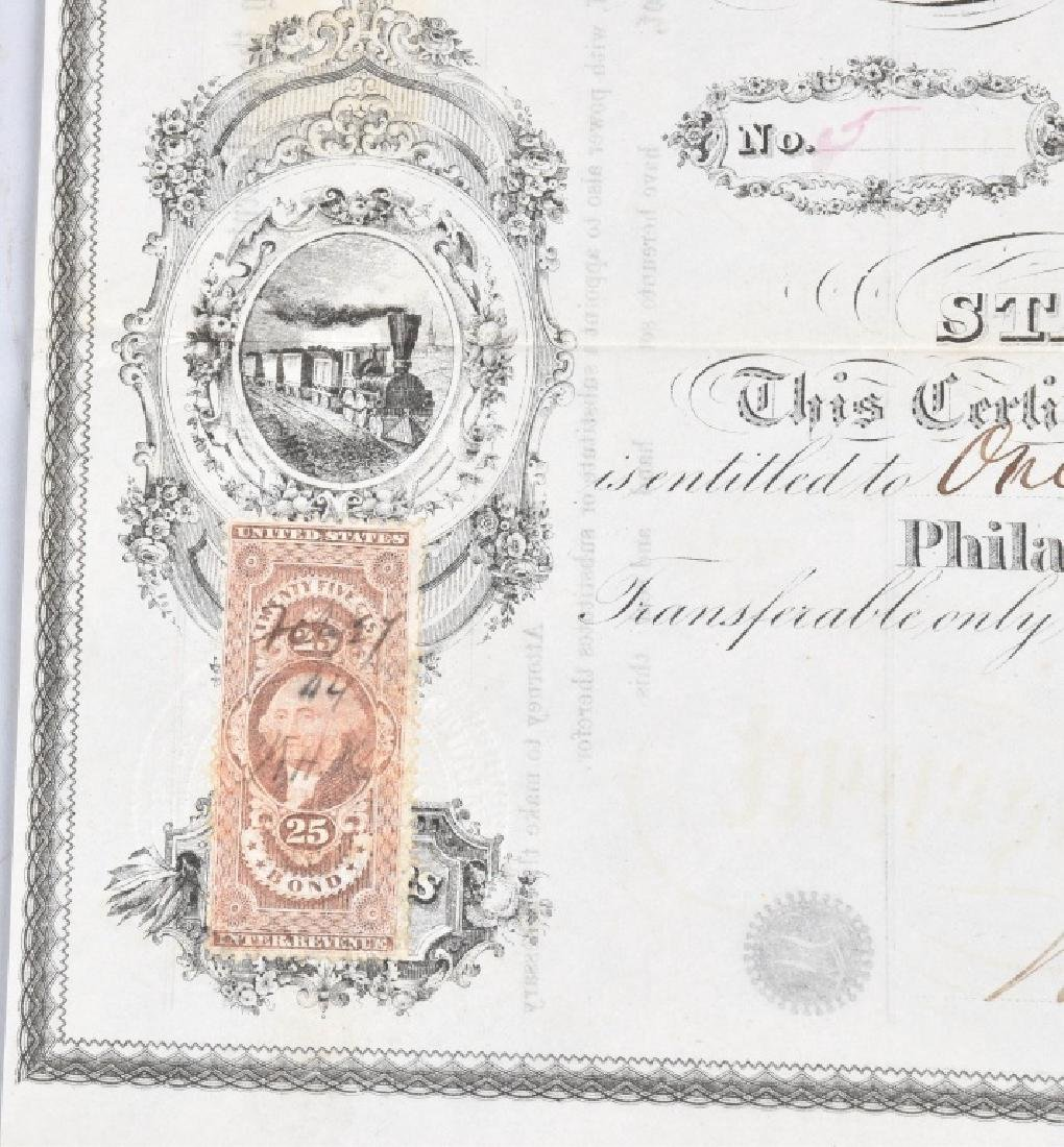 4-1864 OIL STOCK CERTIFICATES - 7