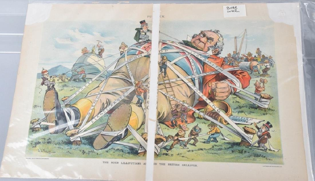 7-JUDGE and PUCK POLITICAL CARTOONS, VINTAGE - 8