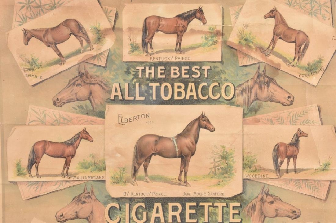 ELBERTON TOBACCO & CIGARETTE ADVERTISING POSTER - 3