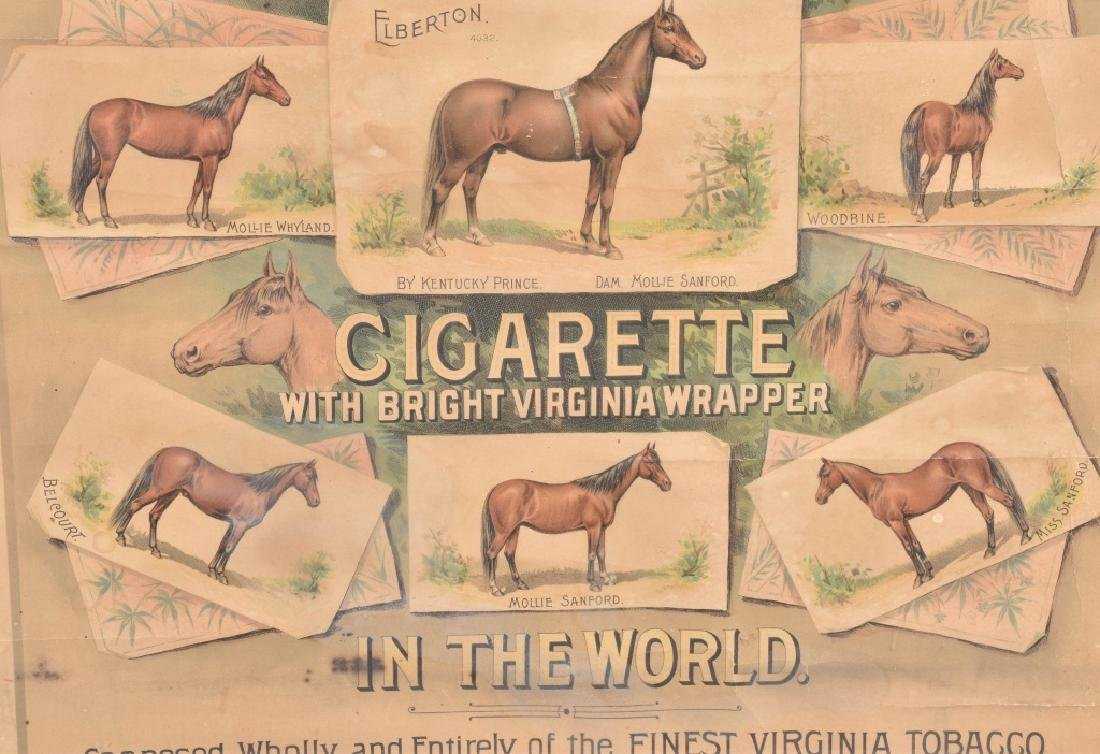 ELBERTON TOBACCO & CIGARETTE ADVERTISING POSTER - 4