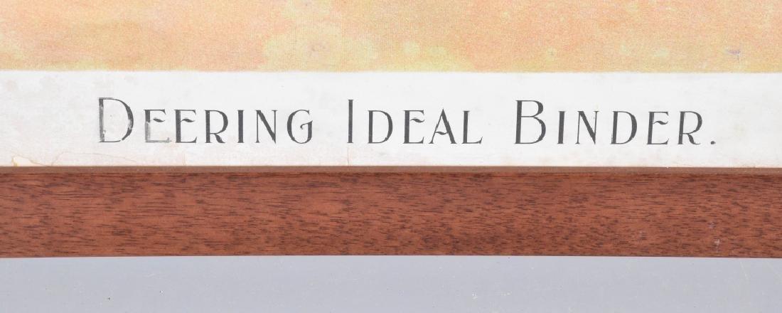 DEERING IDEAL BINDER ADVERTISING LITHO - 4