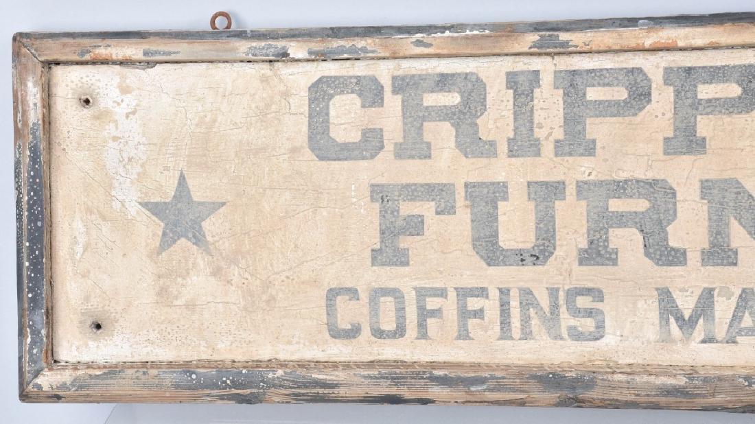 CRIPPLE CREEK FURNITURE WOOD TRADE SIGN - 2