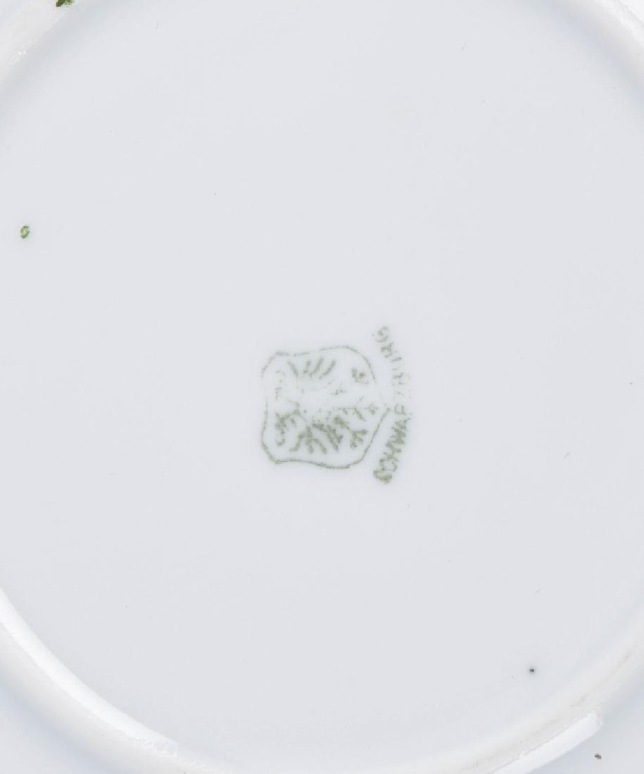 SCHWARZBURG 1909 CALENDAR PLATE w/ GOLF SCENE - 6