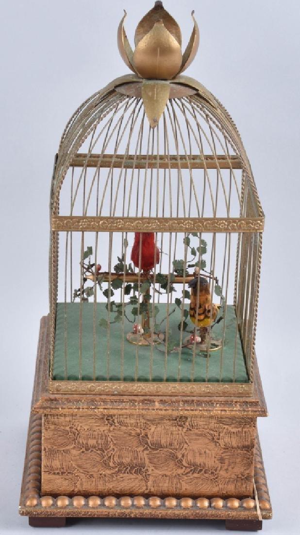 BONTEMS PARIS SINGING BIRDS MECHANICAL AUTOMATON