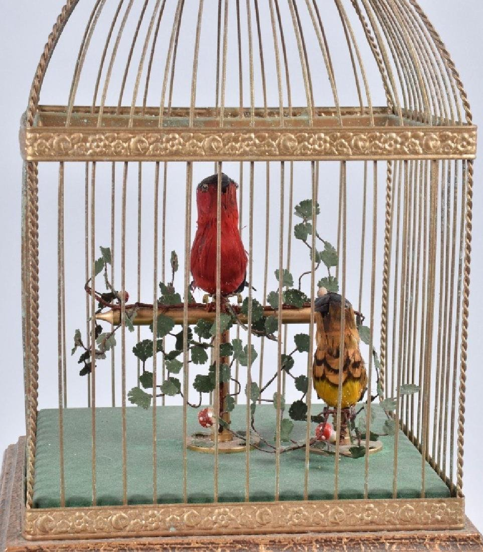 BONTEMS PARIS SINGING BIRDS MECHANICAL AUTOMATON - 2