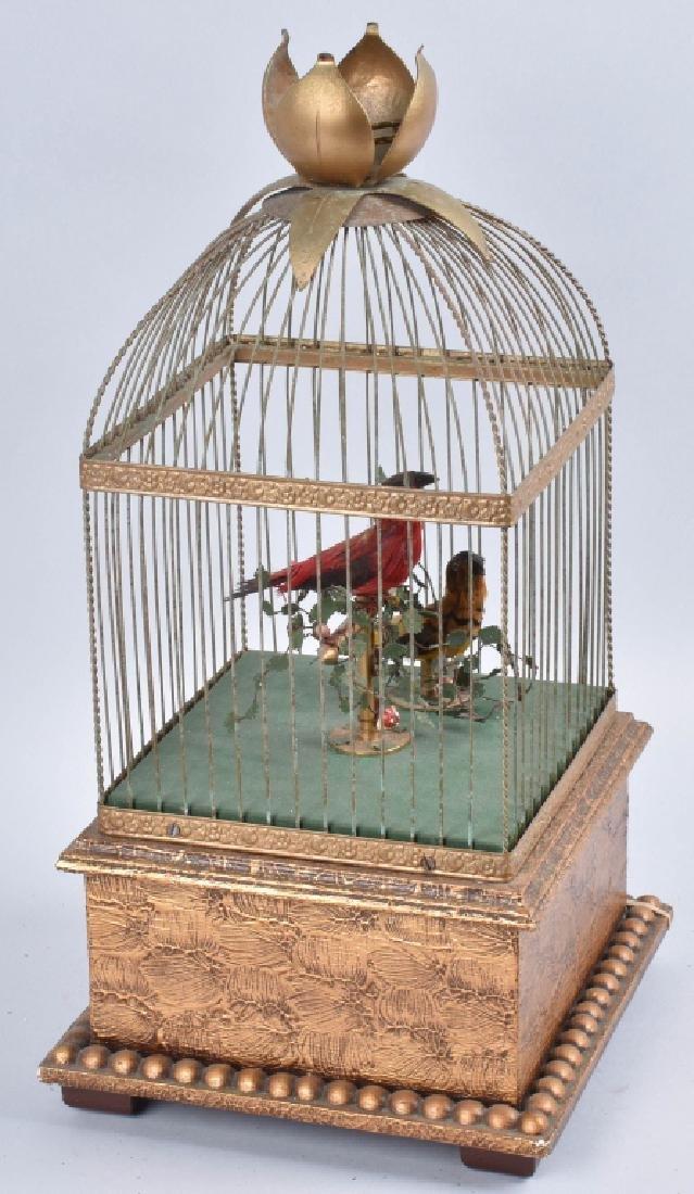 BONTEMS PARIS SINGING BIRDS MECHANICAL AUTOMATON - 3