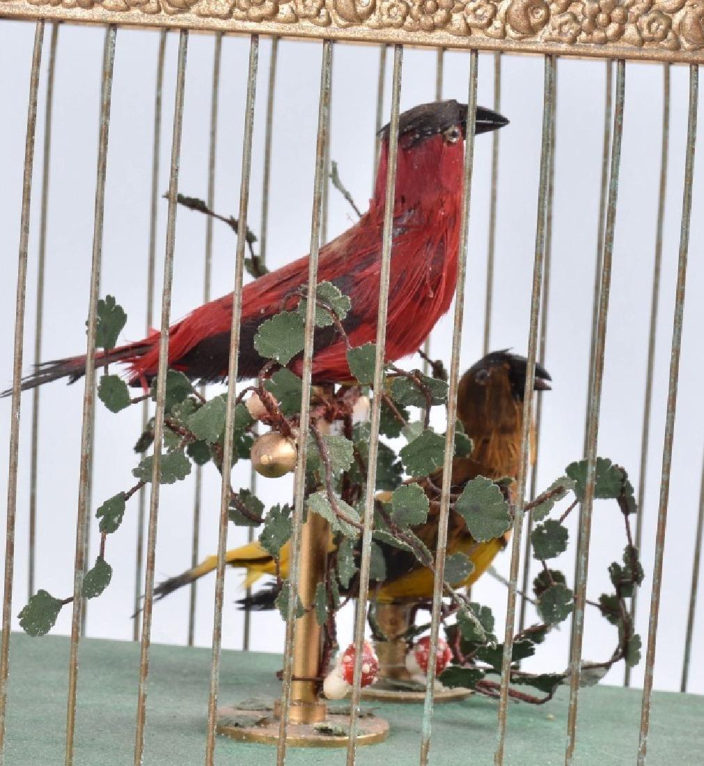 BONTEMS PARIS SINGING BIRDS MECHANICAL AUTOMATON - 4