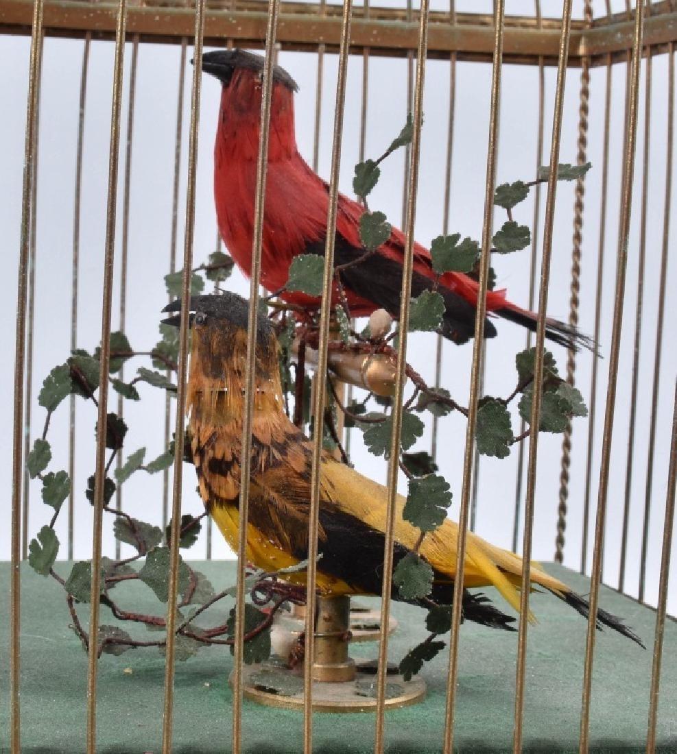 BONTEMS PARIS SINGING BIRDS MECHANICAL AUTOMATON - 6