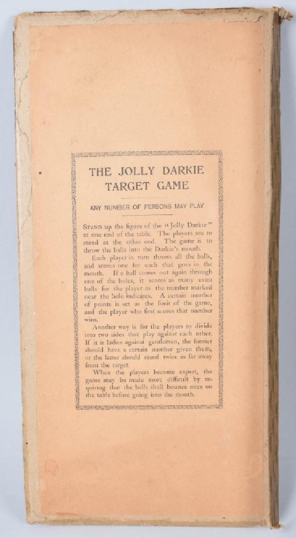 MCLOUGHLIN BROS. JOLLY DARKY TARGET GAME - 3