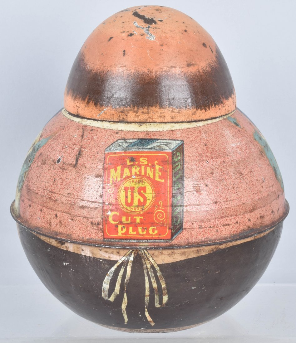 ROLY POLY US MARINE TOBACCO TIN - 3