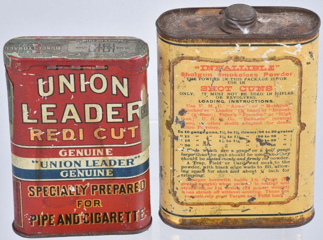 UNION LEADER, LAFLIN & RAND TOBACCO TINS & MORE - 3