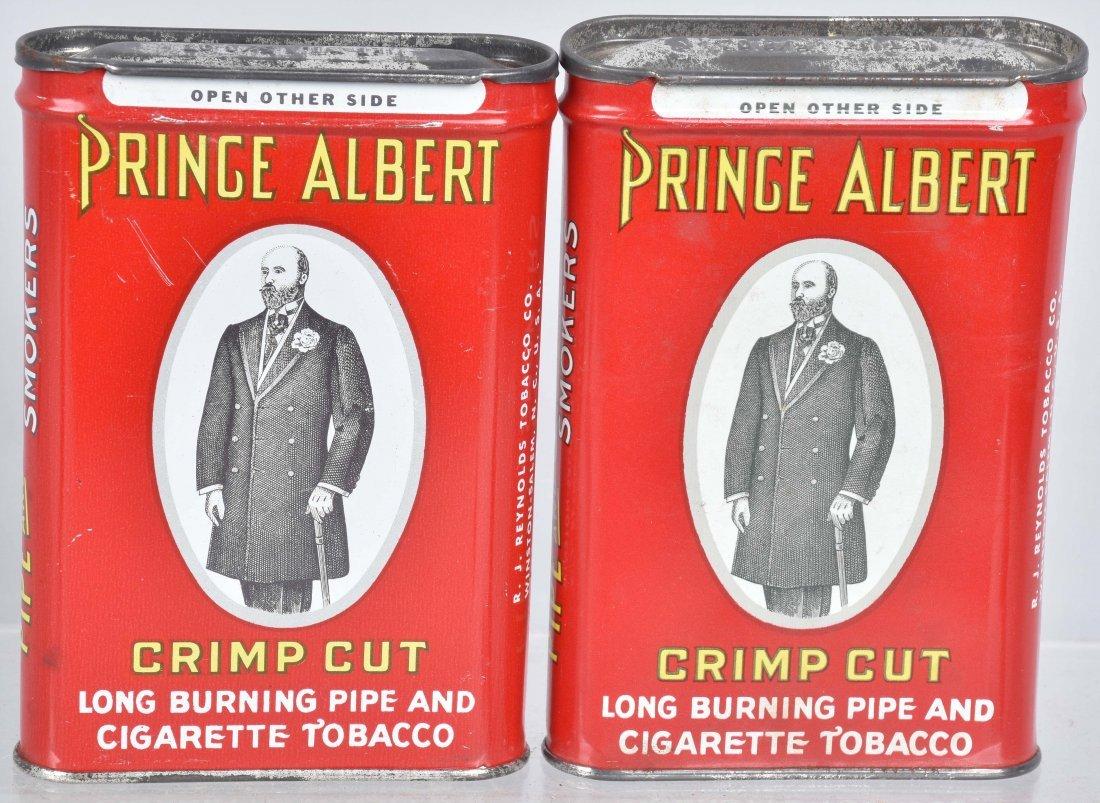4- PRINCE ALBERT POCKET TOBACCO TINS - 3