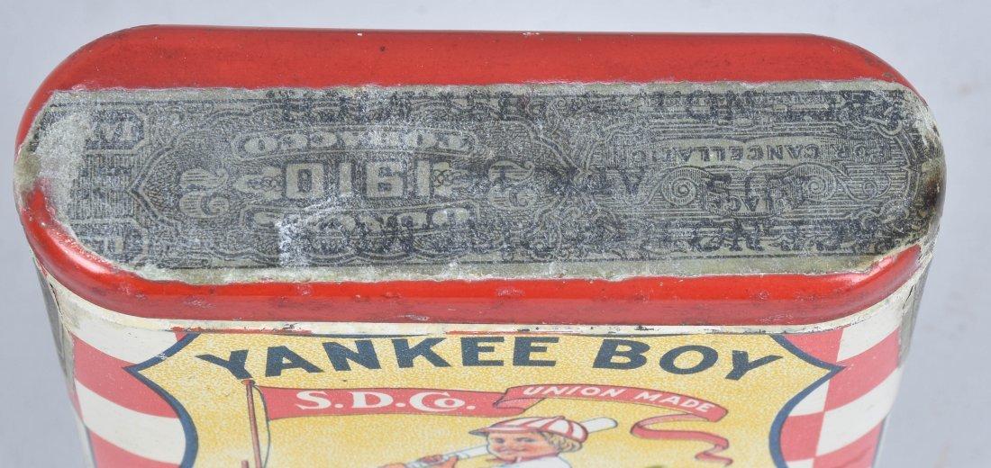 YANKEE BOY POCKET TOBACCO TIN - 3