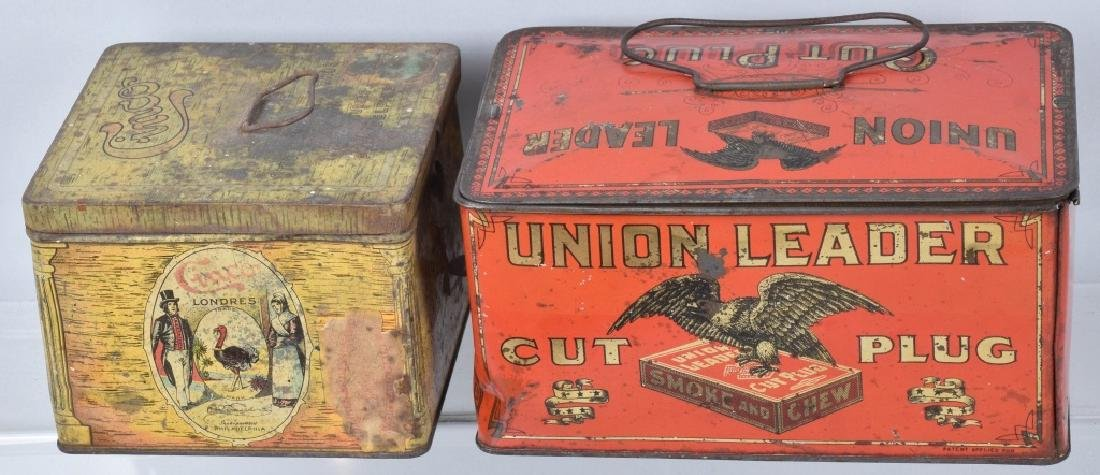 5- CIGAR & TOBACCO TINS - 2