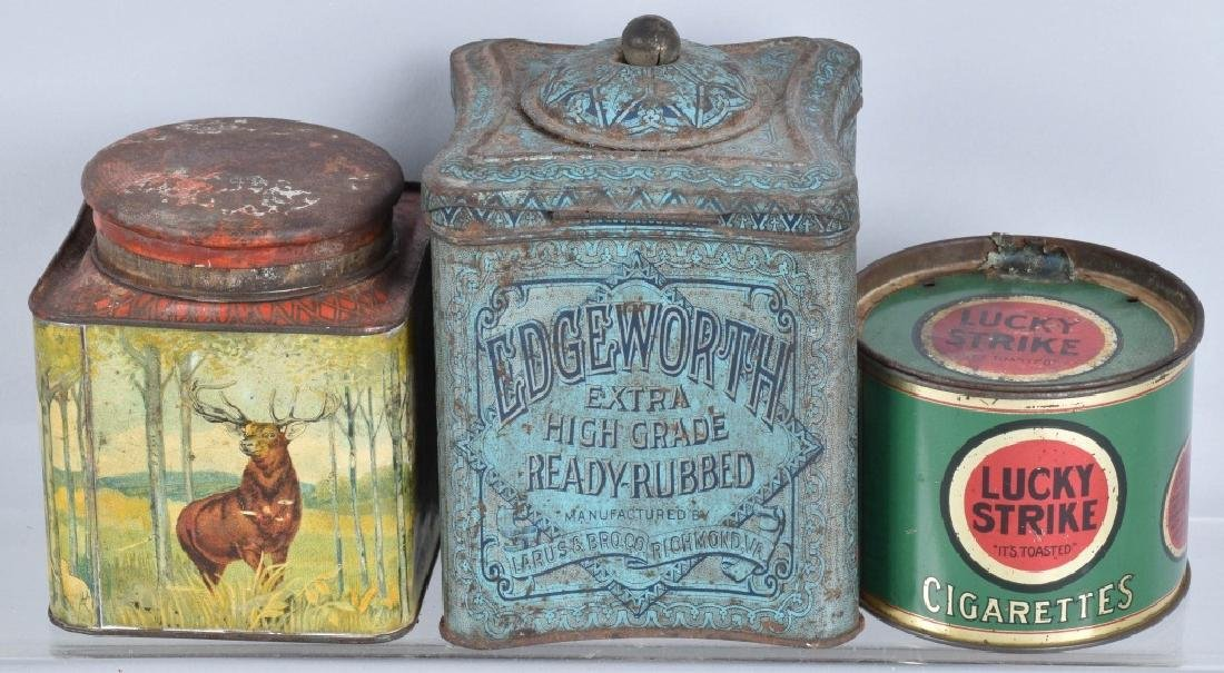 5- CIGAR & TOBACCO TINS - 3