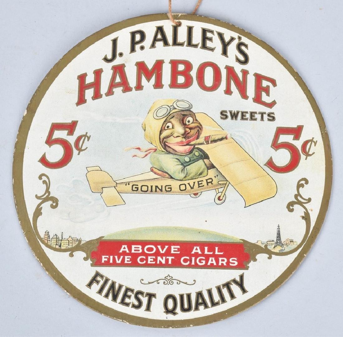 JP ALLYS HAMBONE & TWO HOMERS CIGAR FAN PULLS - 3