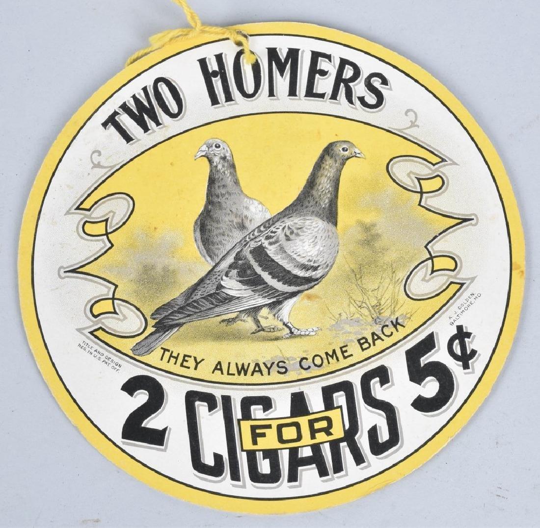 JP ALLYS HAMBONE & TWO HOMERS CIGAR FAN PULLS - 4